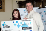 """Lotto winner celebrates by """"sitting in dark room with cup of tea"""""""